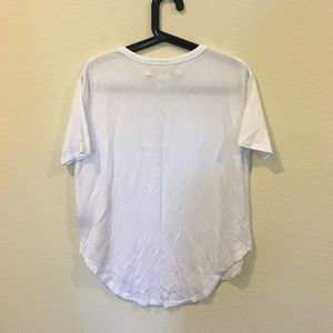 Grace Tops - NWT State of Grace graphic white tee